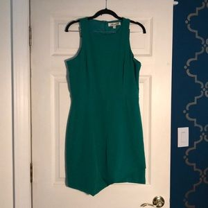 NWT Francesca's Collection Green Dress Size L